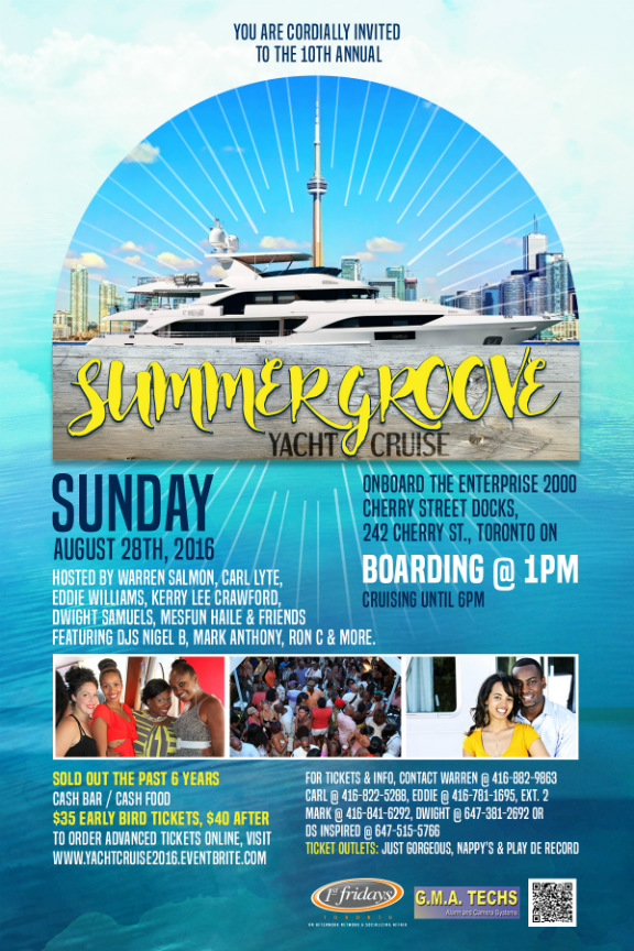 Summer Groove Yacht Cruise